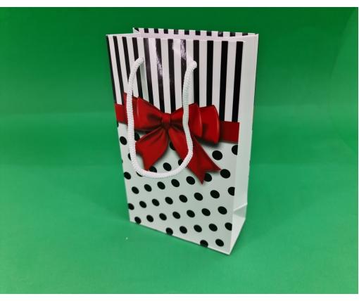 Бумажный пакет подарочный Средний 17/26/8 (артSV-175) (12 шт)