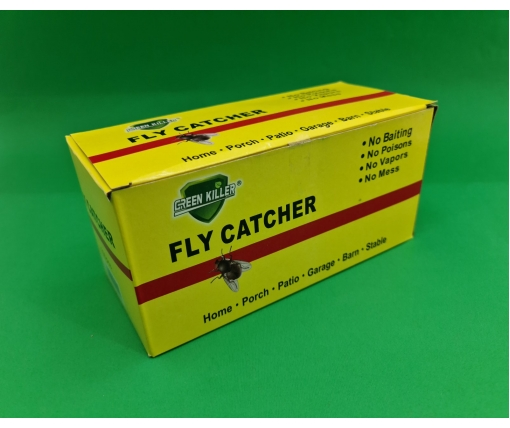 "Клейкая лента от мух (мухоловка) ""Green Killer"" (100 шт)"