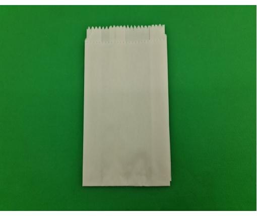 Пакет бумажный 9/4*17 белый  (2000 шт)