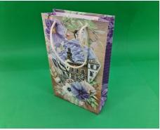 Бумажный пакет подарочный Средний 17/26/8 (артSV-163) (12 шт)