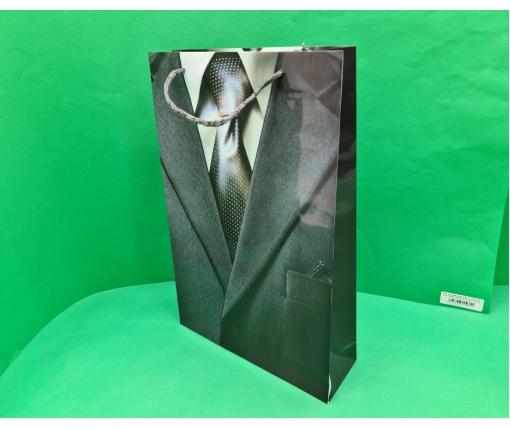 Пакет бумажный Большой вертикальный 25/37/8(артBV-079) (12 шт)