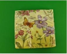 Красивая салфетка (ЗЗхЗЗ, 20шт)  La Fleur  Сладкий аромат (1304) (1 пач)