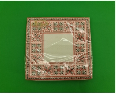 Салфетка декор (ЗЗхЗЗ, 20шт)  La Fleur Симметричный орнамент (1308) (1 пач)