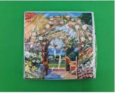 Салфетка декор (ЗЗхЗЗ, 20шт) Luxy  Арка в Рай (1400) (1 пачка)