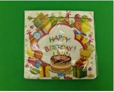 Салфетка для декора (ЗЗхЗЗ, 20шт) Luxy  Детский праздник (2077) (1 пач)