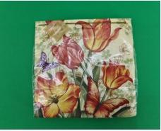 Дизайнерская салфетка (ЗЗхЗЗ, 20шт) Luxy  Обольстительный аромат тюльпанов (2055) (1 пач)