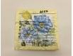 Дизайнерская салфетка (ЗЗхЗЗ, 20шт) Luxy  Цветочная лазурь (2057) (1 пач)