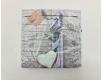 Дизайнерская салфетка (ЗЗхЗЗ, 20шт) Luxy  Ловандовая лента (2094) (1 пач)