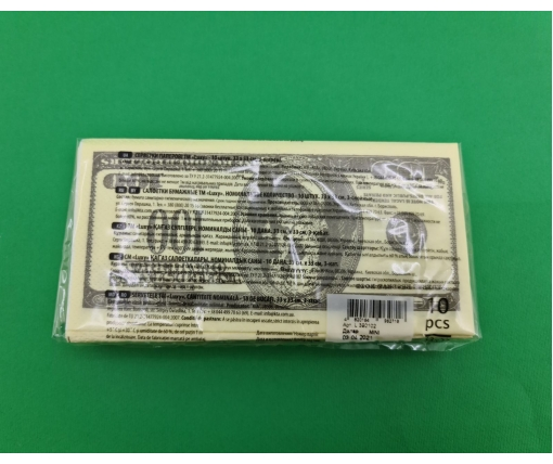 Красивая салфетка (ЗЗхЗЗ, 10шт) Luxy MINI Доллар (2037) (1 пачка)