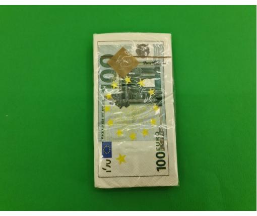 Красивая салфетка (ЗЗхЗЗ, 10шт) Luxy MINI Евро (2036) (1 пач)
