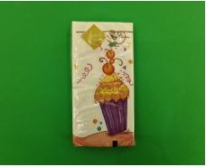 Красивая салфетка (ЗЗхЗЗ, 10шт) Luxy MINI Праздник и мышки (2045) (1 пач)
