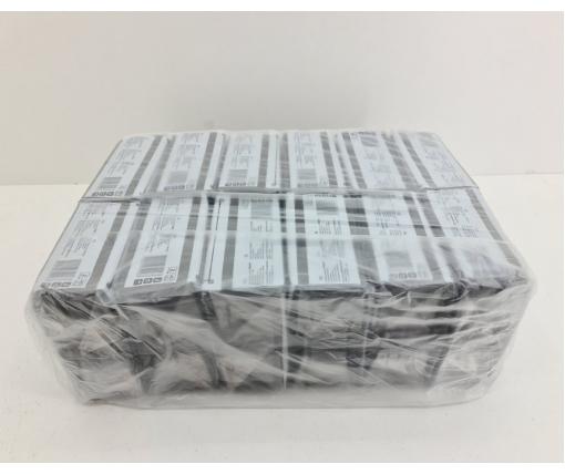Cалфетки бумажные 40лист Премьер  2-ух слойные  Черная 30х30 (12 пачка)