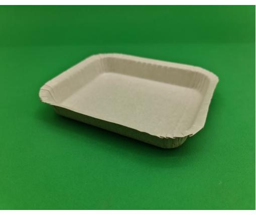 Бумажный лоток 115*140мм(144) белый ЛАМИНАТ (100 шт)