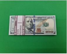 Сувенирные деньги 100 долларов новые (1 пач)