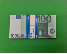 Деньги сувенирные подарочные100 евро (1 пач)
