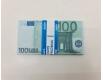 Деньги сувенирные подарочные100 евро (1 пачка)