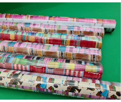 Бумага подарочная БУМ Детские ассорти 1 (25 шт)