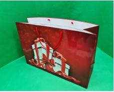 Бумажный пакет горизонтальный гигант 46*33*15 (артGG-036) (12 шт)