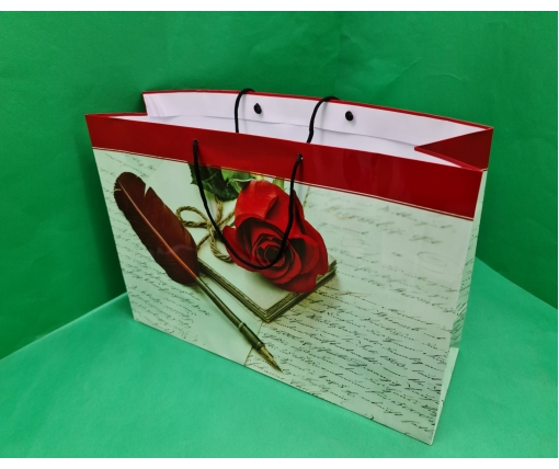 Бумажный пакет горизонтальный гигант 46*33*15 (артGG-060) (12 шт)