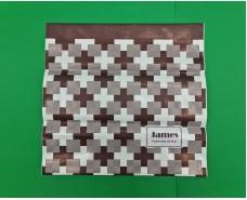 """Пакет с пластиковой ручкой  """"Джеймс""""  без ручки (10 шт)"""