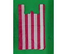 Пакет майка полиэтиленовая 50мкм Полоса (43х75) №4 (50 шт)