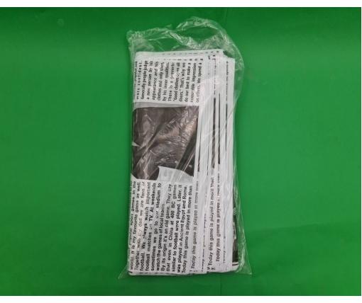 Пакет 40*50 петлевая ручка Газета Комсерв (25 шт)