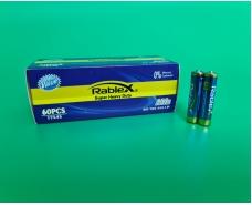Элемент питания Батарейка RABLEX (ААА R3) солевые (Б-4) (4 шт)