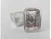 Контейнер из пищевой алюминиевой фольги прямоугольный 520мл R26G 100шт в упаковки (1 пачка)