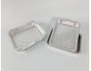 Контейнер из пищевой алюминиевой фольги прямоугольный 1150мл R2G 100шт в упаковки (1 пачка)