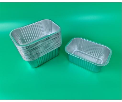 Контейнеры гладкостенные алюминиевые 1900мл 292BP 65шт (1 пачка)