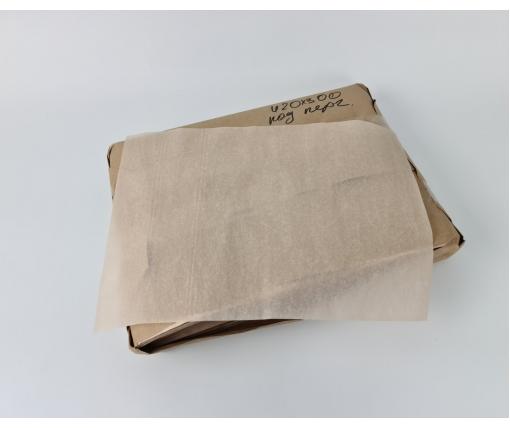 Бумага жиронепроницаемая бежевая420х300 мм  52 г\м2  Сокольское ЦБК 5кг (1 пачка)