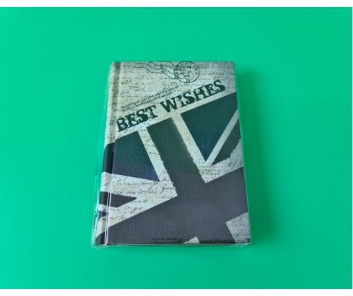 Блокнот в линию картонная обложка WB-GYBW15-12 (1 шт)