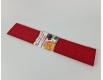 Бумага креповая (гофрированая) красная (1 пачка)