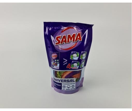 """Гель для стирки (400гр) """"Universal"""" SAMA для хлопка/льна/синтетики (1 шт)"""