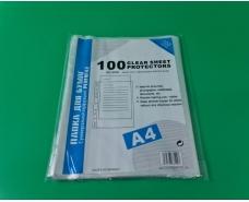 """Канцелярские файлы для документов тм. А4  """"Eco classik"""" (матовые) 18 мкм (100 шт)"""